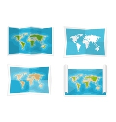 World map Navigation Africa vector