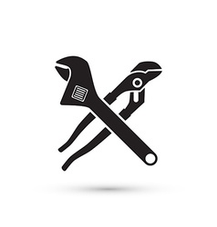 Pliers isolated vector
