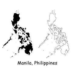 1138 manila philippines vector