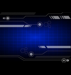 Abstract background technology communication vector