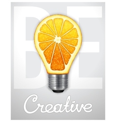 Be creative vector