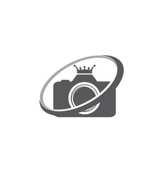 best king photography service vector image