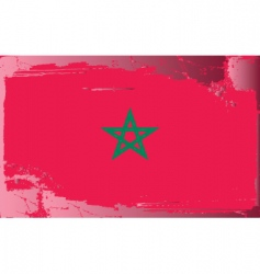 Morocco national flag vector image