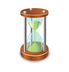 Sand clock vector