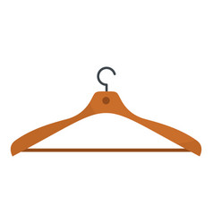 wear hanger icon flat style vector image