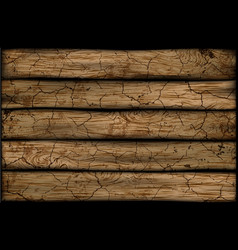 Wooden background with wood texture vector