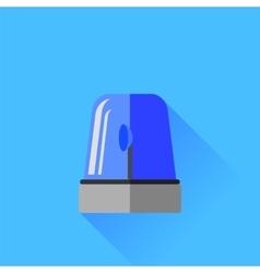 Blue Siren Icon vector