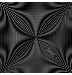 Design monochrome twirl circular background vector
