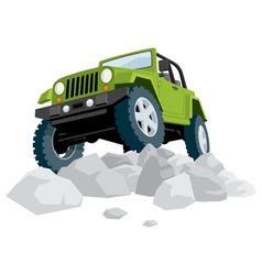 offroad vector image