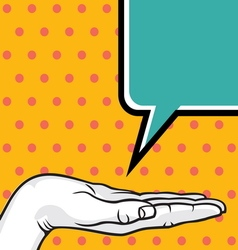 POPART FIST5 vector image