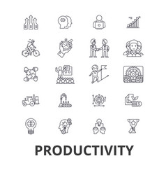 Productivity efficiency increase innovation vector