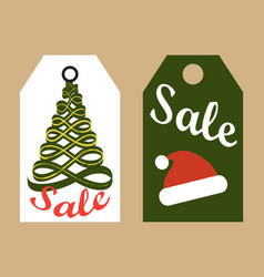 Sale promo tags ready to use stickers icons vector