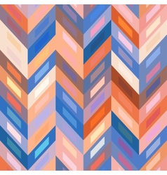 Seamless Color Abstract Zigzag Background vector