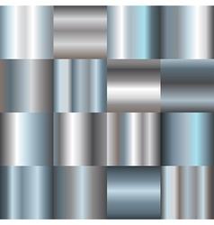 Silver gradients vector