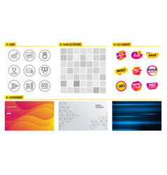 demand curve opinion and payment click icons vector image