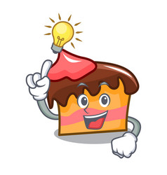 Have an idea sponge cake mascot cartoon vector