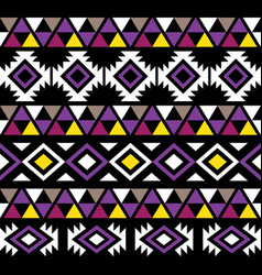 hawaiian tribal seamless pattern design vector image