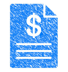 price list grunge icon vector image