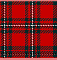 scottish plaid classic tartan seamless pattern vector image