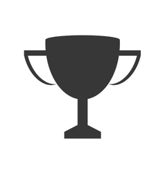 Trophy winner competition sport icon vector