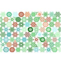 seamless mega gorgeous seamless patchwork pattern vector image