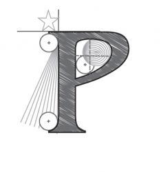 p vector image vector image