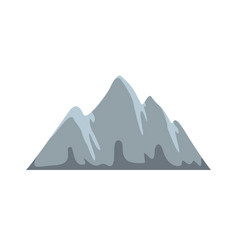 alp icon flat style vector image