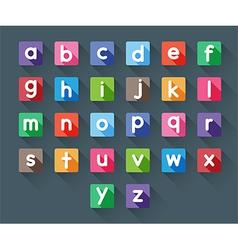 Alphabet letters vector