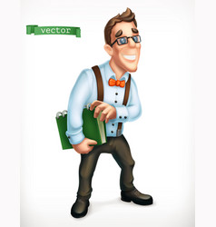 business consultant logistician office manager vector image