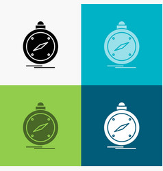 compass direction navigation gps location icon vector image