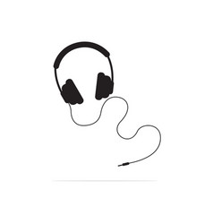 earphone icon concept for design vector image