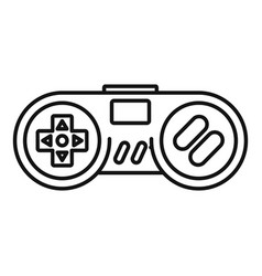 Gadget game controller icon outline style vector
