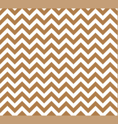 gold and white zig zag seamless pattern vector image