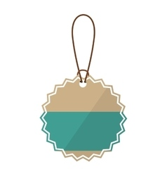 Hanging tag icon vector