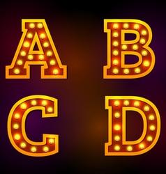 Light font vector