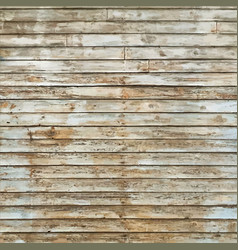 rustic old pale timber wood wall floor vector image