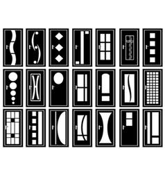 of doors vector image