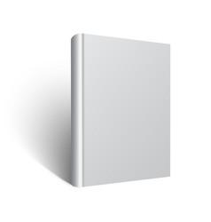 blank book mockup eps vector image vector image