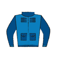 winter jacket wear vector image