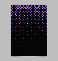 Abstract square pattern flyer template - tile vector
