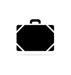 baggage icon concept for design vector image