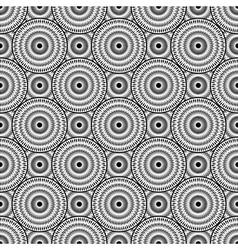 Design seamless monochrome ellipse background vector