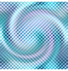 Diagonal plaid pattern on blur spiral background vector