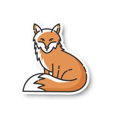 Fox patch vector