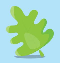 Gobble leaf green 08 vector
