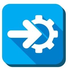 Integration Flat Icon vector