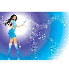Magic Girl vector