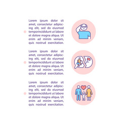 Midlife crisis occurrence concept line icons vector