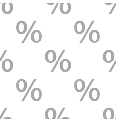 New Percent seamless pattern vector image