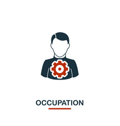Occupation icon premium style design from vector